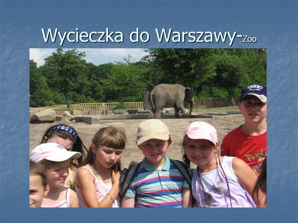 Wycieczka do Warszawy- Zoo