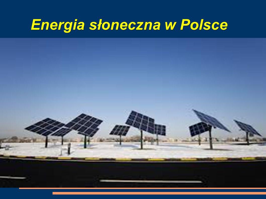 Energia słoneczna w Polsce