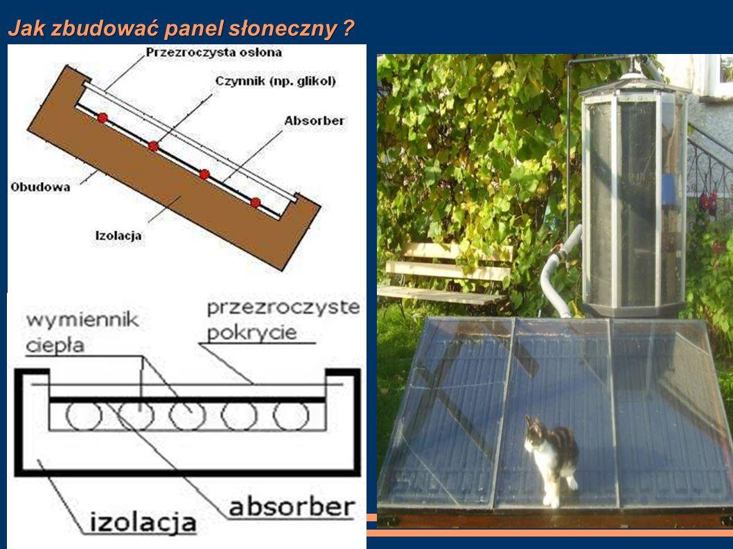Jak zbudować panel słoneczny ?