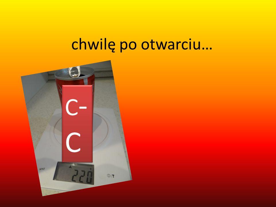 chwilę po otwarciu… C-CC-C C-CC-C