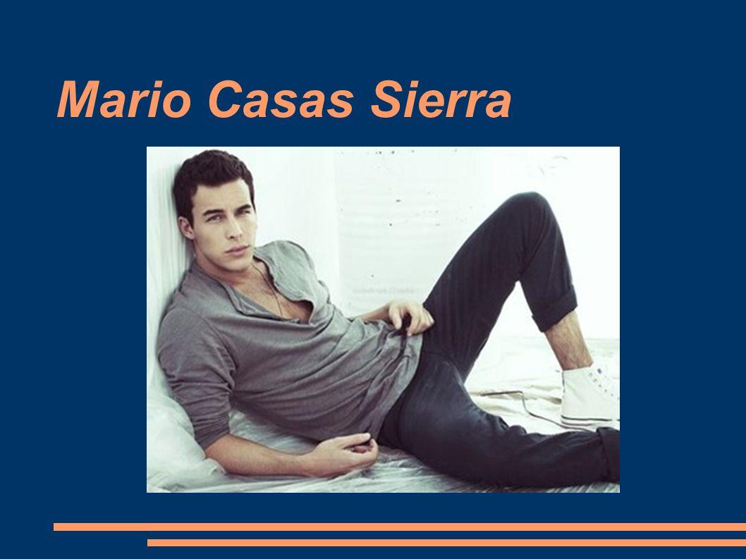 Mario Casas Sierra Tytuł