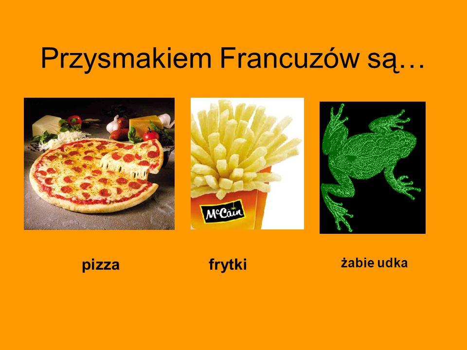 Przysmakiem Francuzów są… pizzafrytki żabie udka