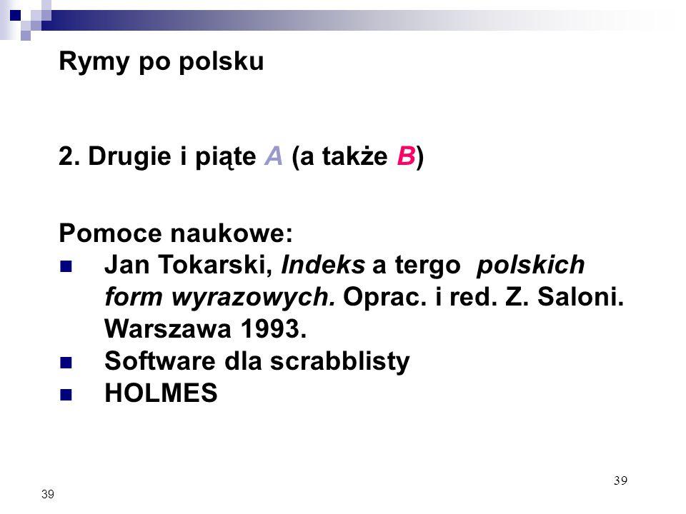 39 Rymy po polsku 2.