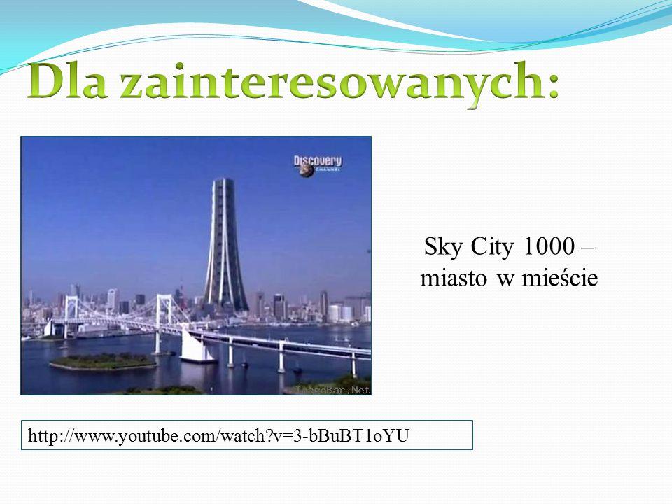 Sky City 1000 – miasto w mieście http://www.youtube.com/watch?v=3-bBuBT1oYU