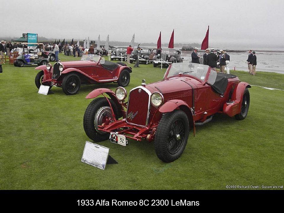 1933 Alfa Romeo 8C 2300 LeMans