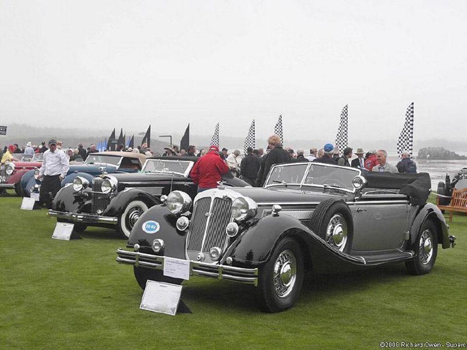 1936 Horch 853 Cabriolet