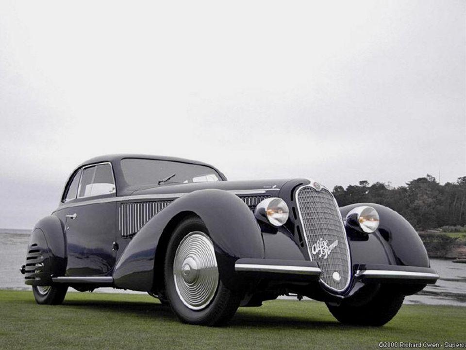 1938 Alfa Romeo B Corto Touring Berlinetta