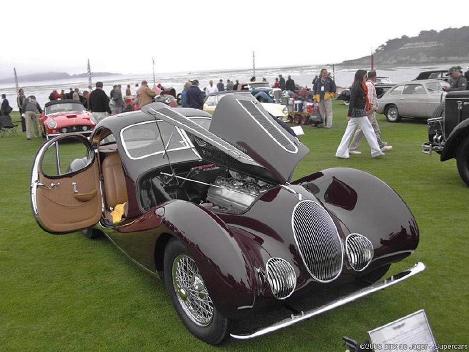 1938 Talbot-Lago T150C Figoni et Falschi Teardrop
