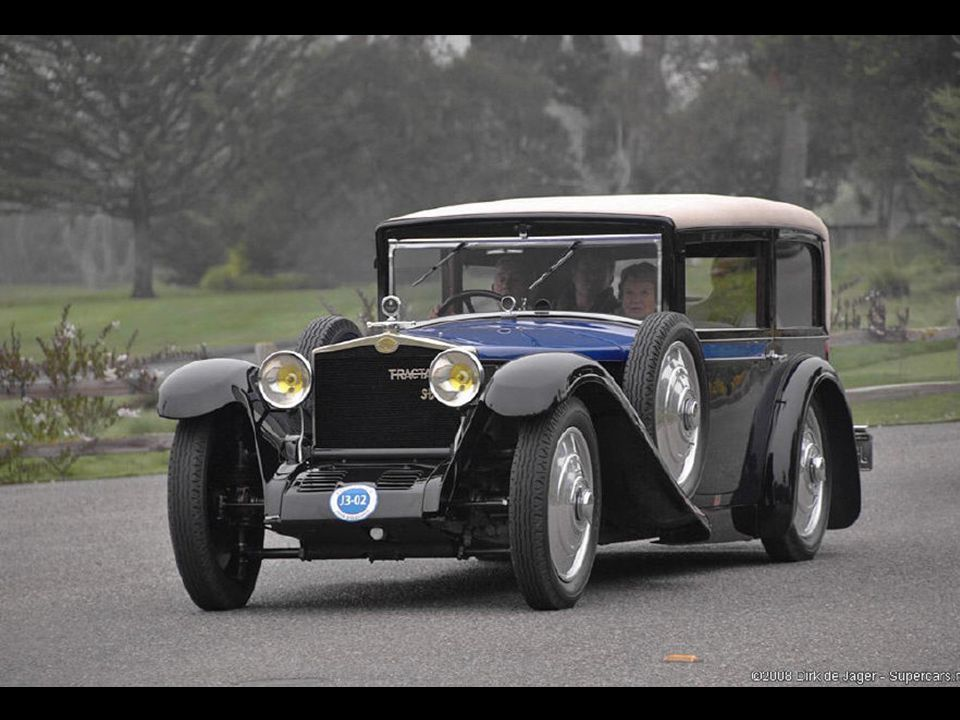 1930 Tracta E Henri LeMoine Coupe