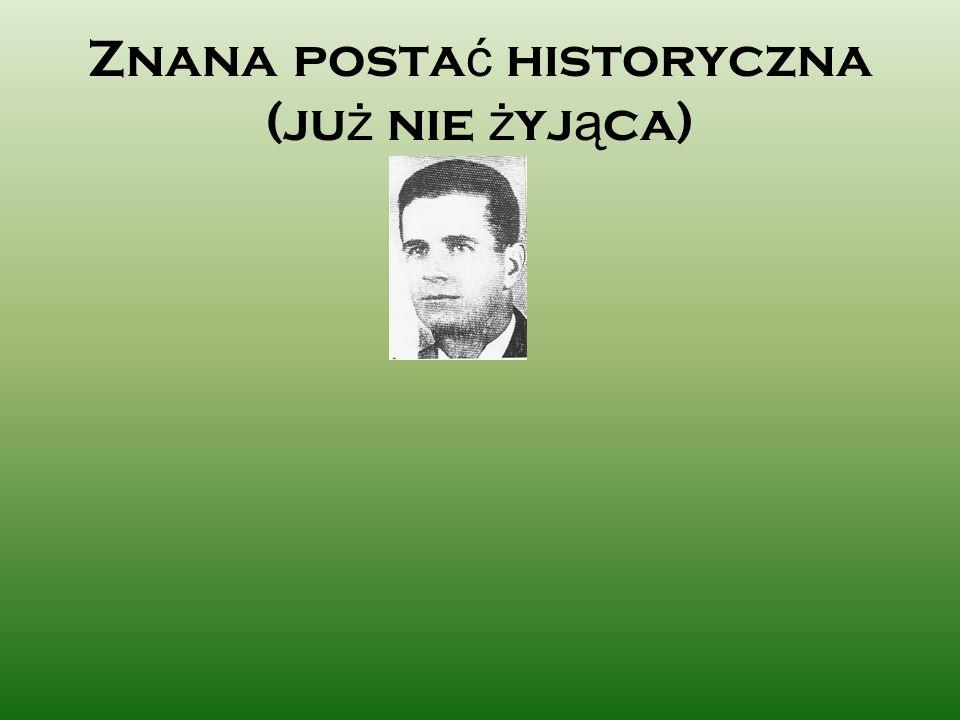 Spis treści Lata dziecięce Sportowiec Studia Żołnierz Partyzant Bohater powiatowy