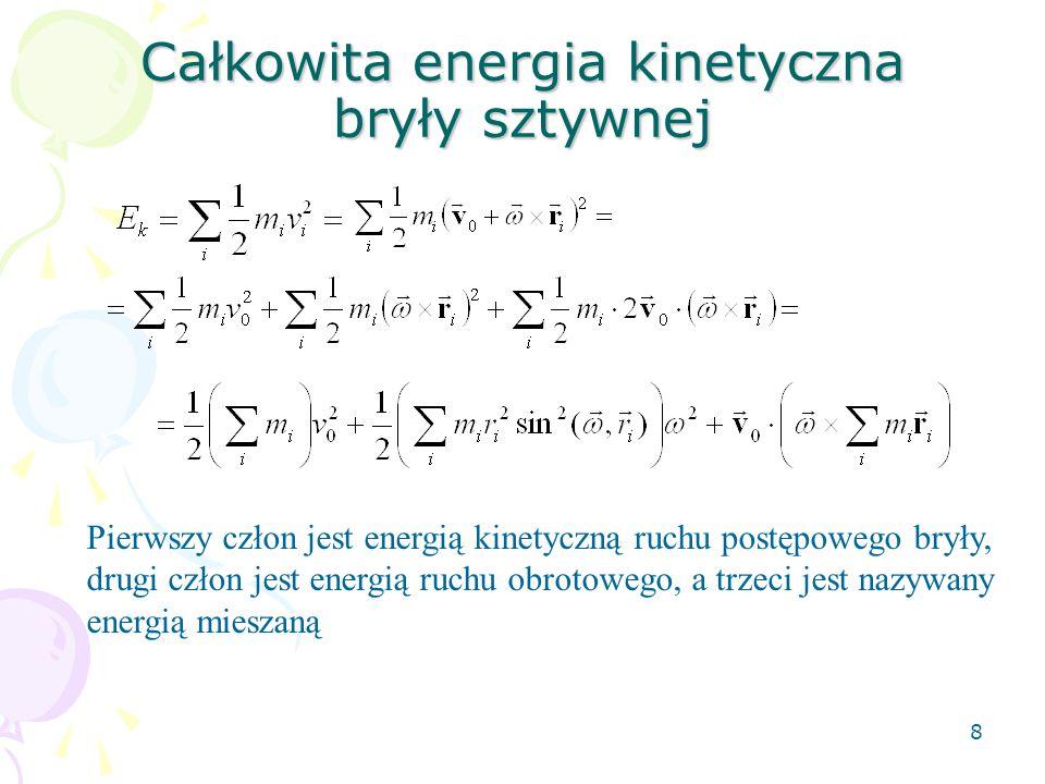 29 Przekształcając wzór na długość zredukowaną mamy  Dla każdej długości zredukowanej mamy dwie odległości osi obrotu od środka masy.