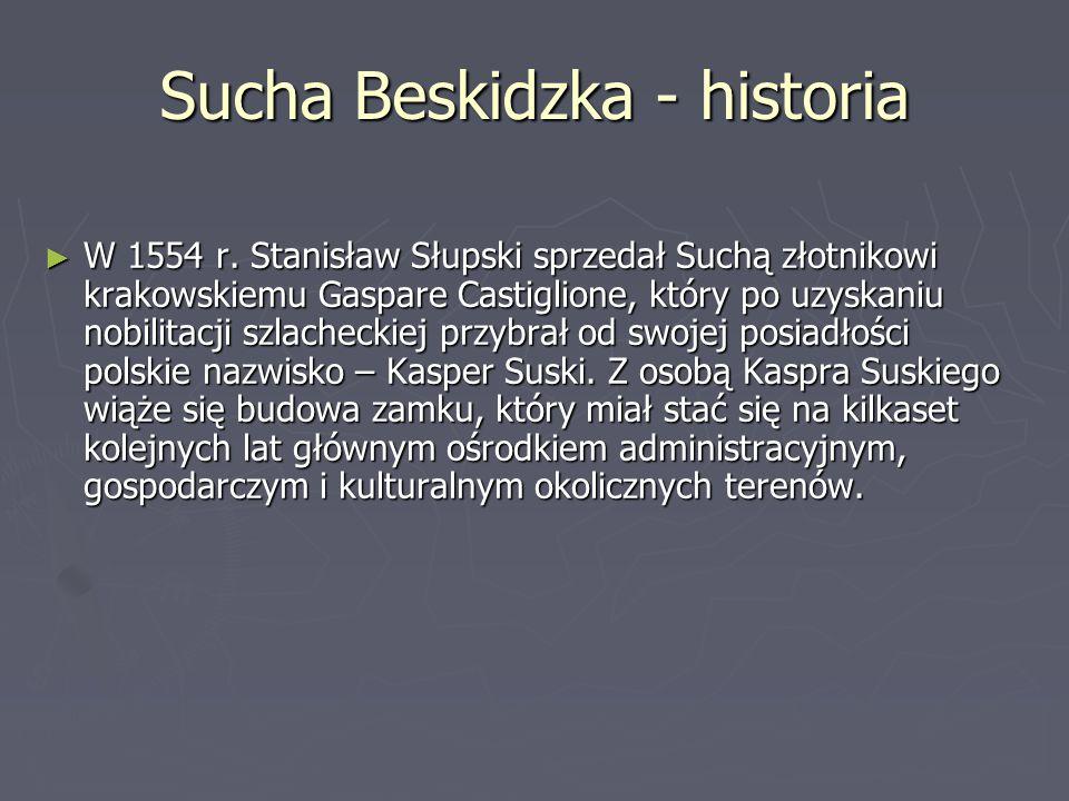 Sucha Beskidzka - ludność ► W Suchej Beskidzkiej mieszka 9750 ludzi z czego: 51,8% ludzi to kobiety 48,2% ludzi to mężczyźni