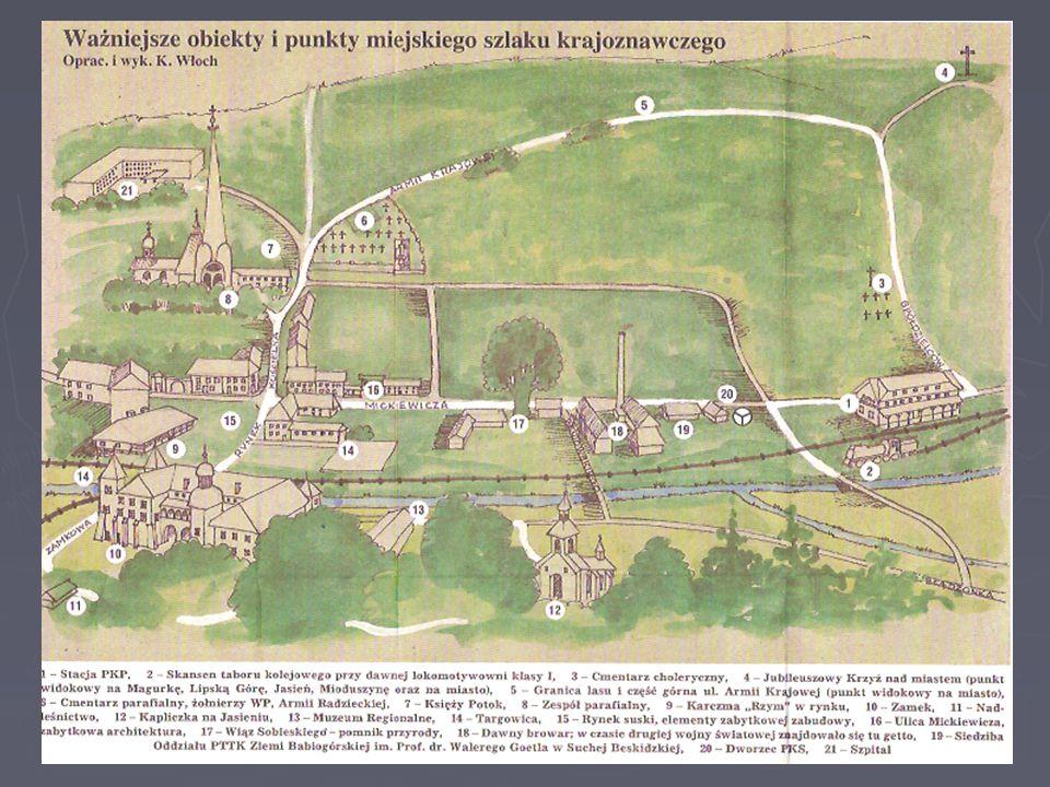 Sucha Beskidzka - historia ► W 1554 r. Stanisław Słupski sprzedał Suchą złotnikowi krakowskiemu Gaspare Castiglione, który po uzyskaniu nobilitacji sz