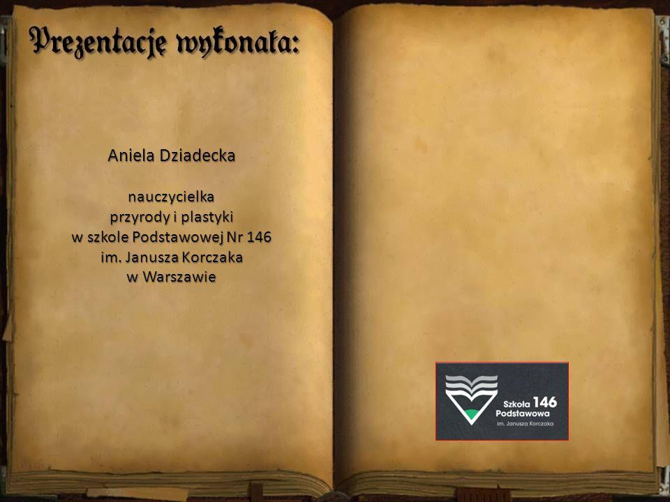Aniela Dziadecka nauczycielka przyrody i plastyki w szkole Podstawowej Nr 146 im. Janusza Korczaka w Warszawie