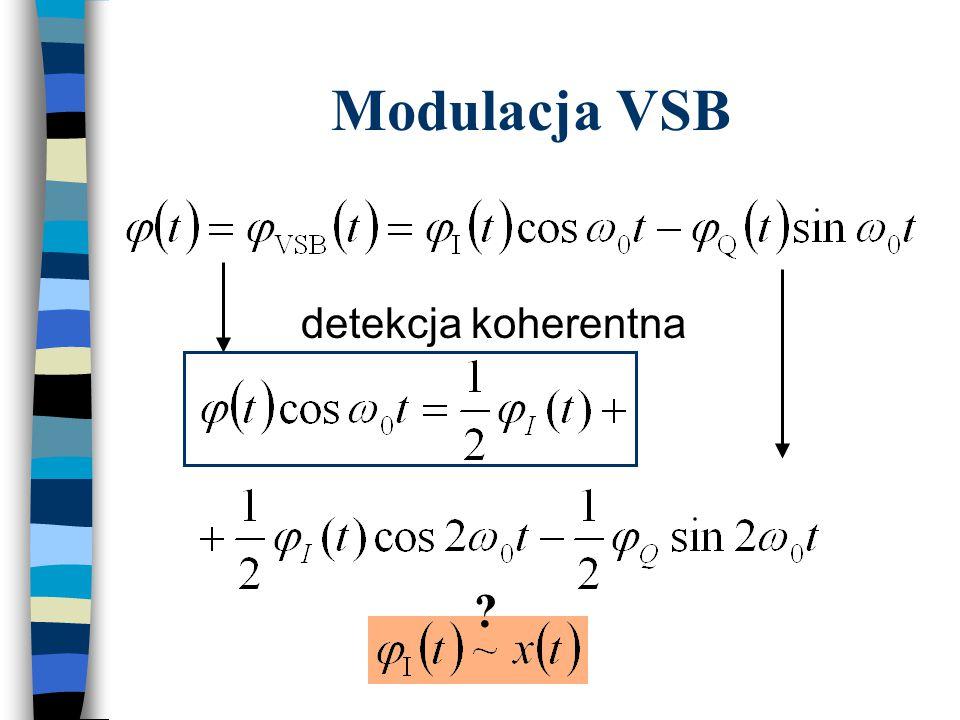 Modulacja VSB detekcja koherentna ?