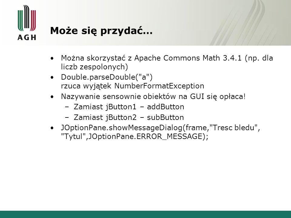 Może się przydać… Można skorzystać z Apache Commons Math 3.4.1 (np.