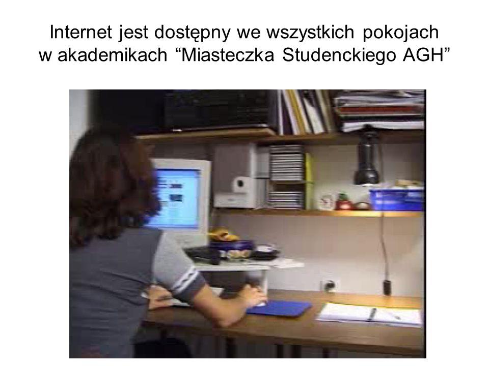 Studenci uczący się przez Internet