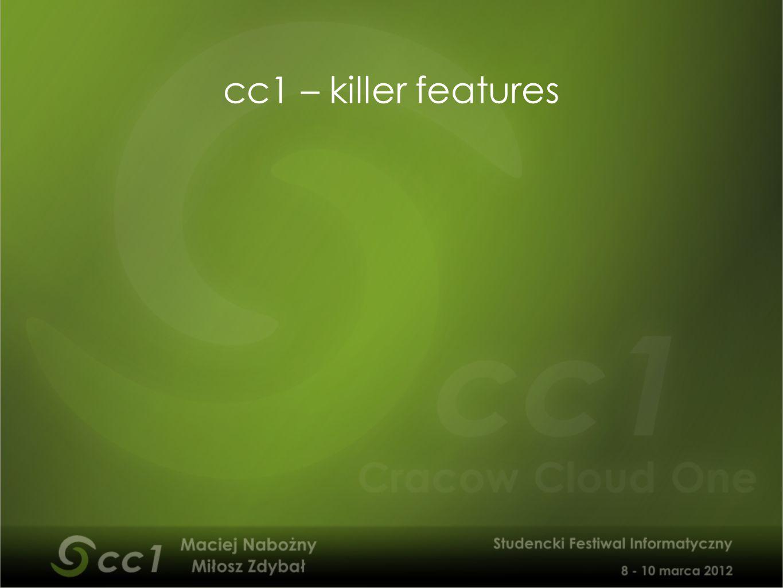 cc1 – killer features