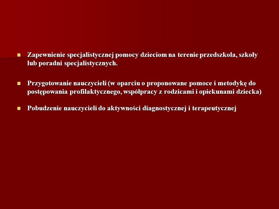 Wykonawcy projektu 1.PRZESZKOLENI NAUCZYCIELE WYCHOWANIA PRZEDSZKOLNEGO 2.