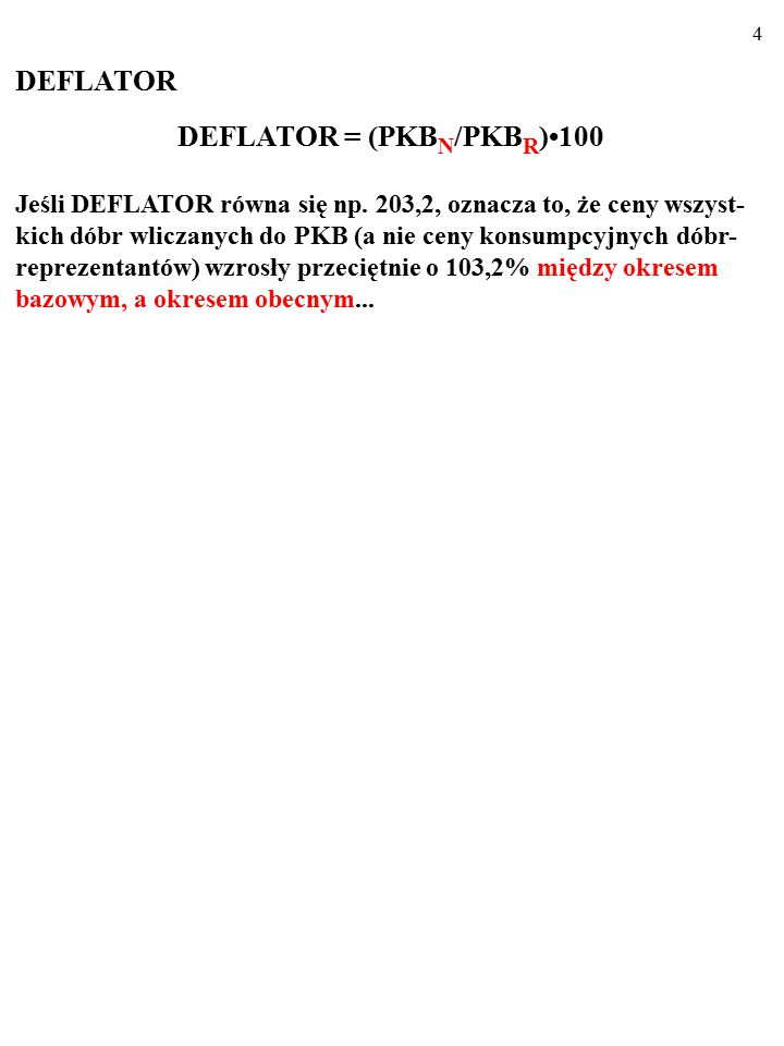 104 Akceptacji prowadzonej przez państwo polityki antyinflacyjnej sprzyja odpowiednia POLITYKA DOCHODOWA.
