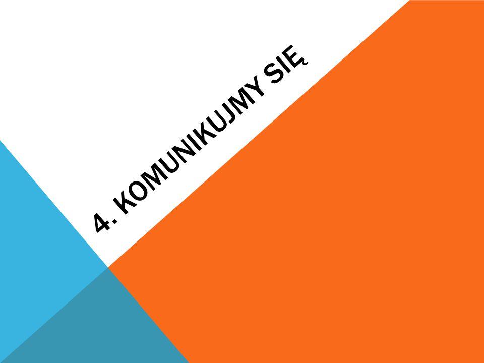 4. KOMUNIKUJMY SIĘ