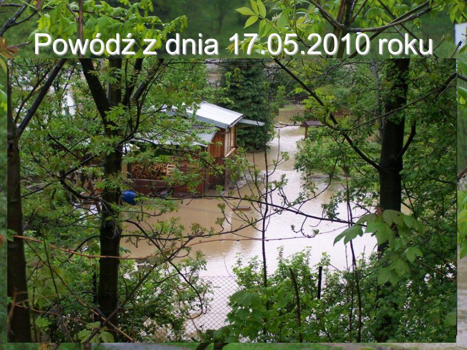 Powódź z dnia 17.05.2010 roku