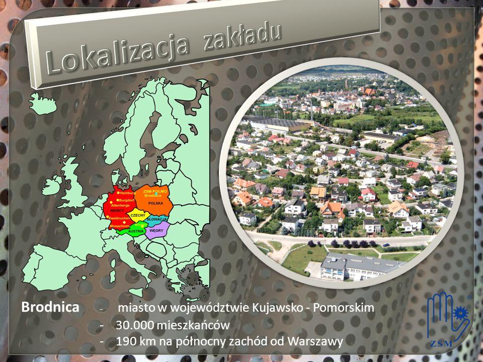 Brodnica - miasto w województwie Kujawsko - Pomorskim - 30.000 mieszkańców - 190 km na północny zachód od Warszawy