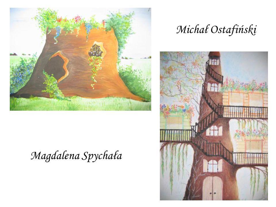 Magdalena Spychała Michał Ostafiński