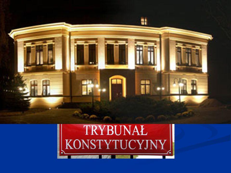 Trybunał Konstytucyjny oraz sądownictwo konstytucyjne