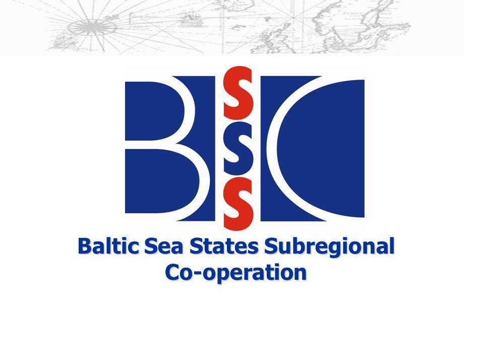 Baltic Sea States Subregional Co-operation