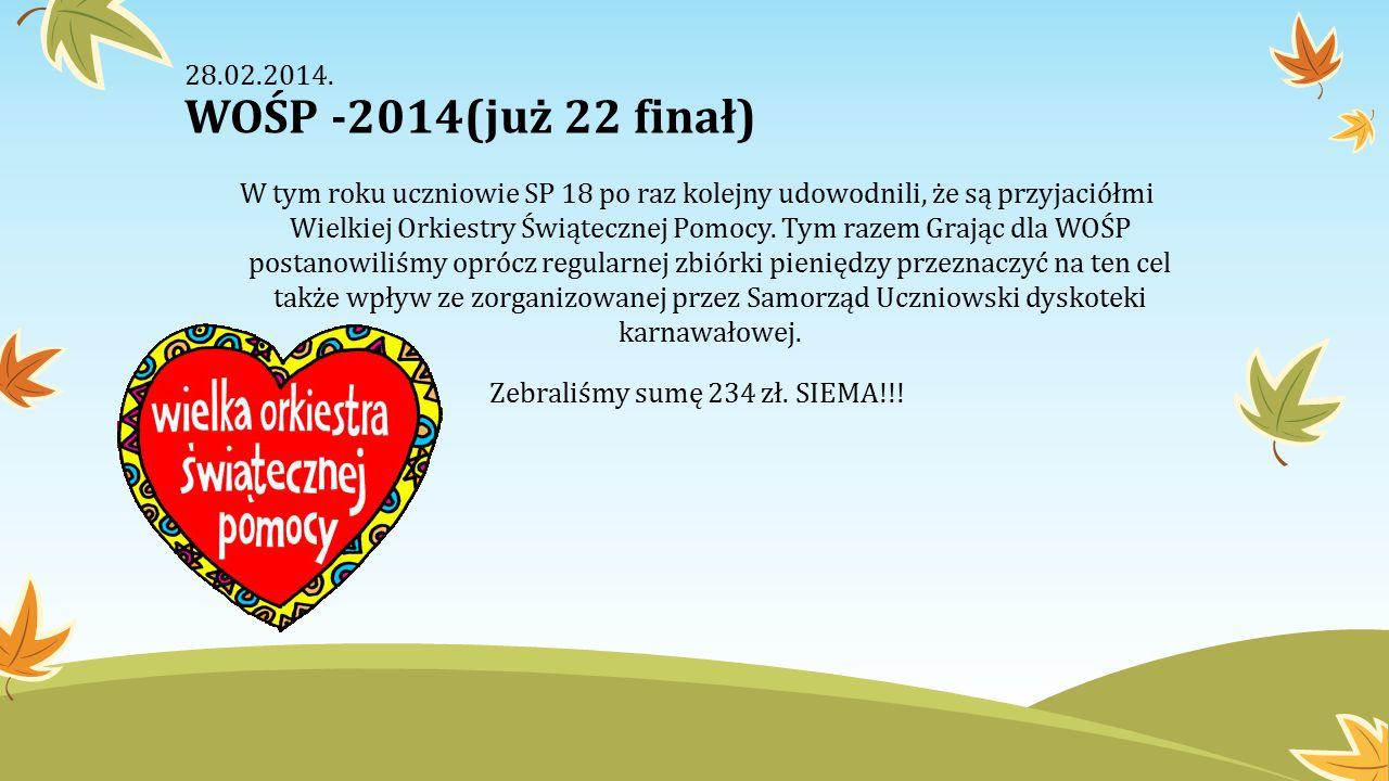 Blog SKO SP18 w Legnicy Zapraszamy na blog SKO przy SP nr 18 im.