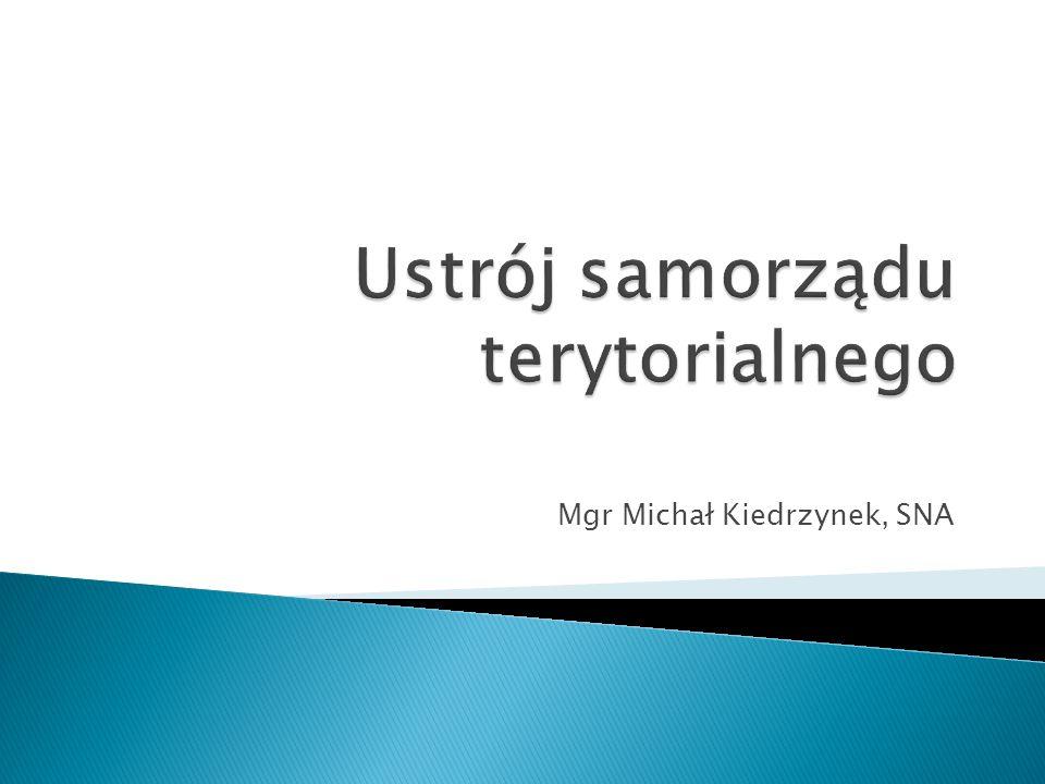 Mgr Michał Kiedrzynek, SNA