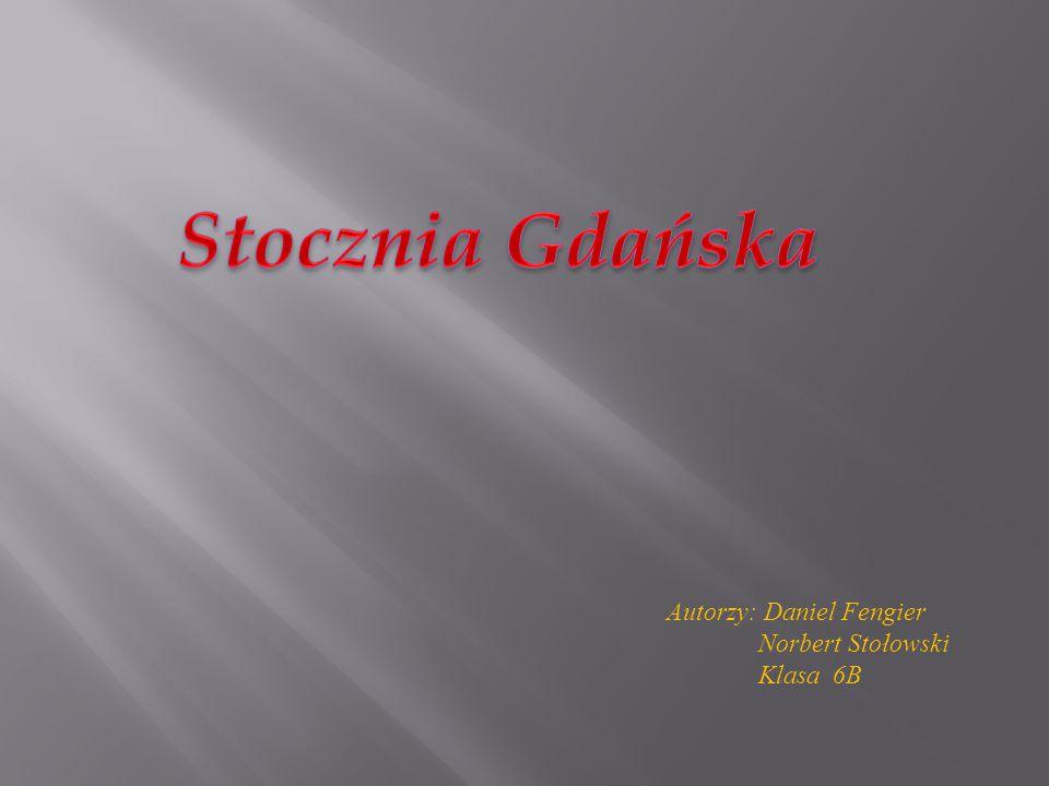 Autorzy: Daniel Fengier Norbert Stołowski Klasa 6B