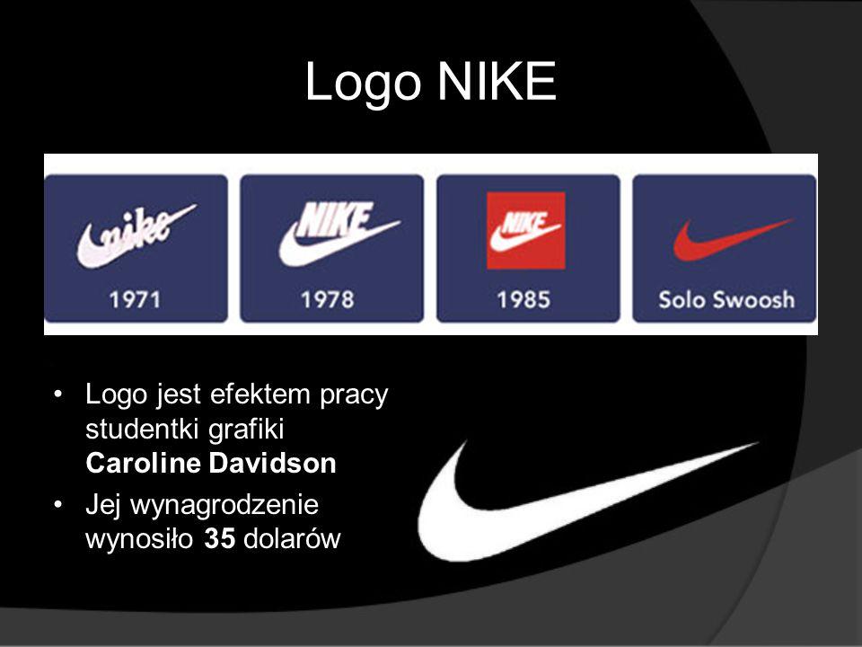 W pełni kontrolowane przez firmę NIKE marki to m.in.