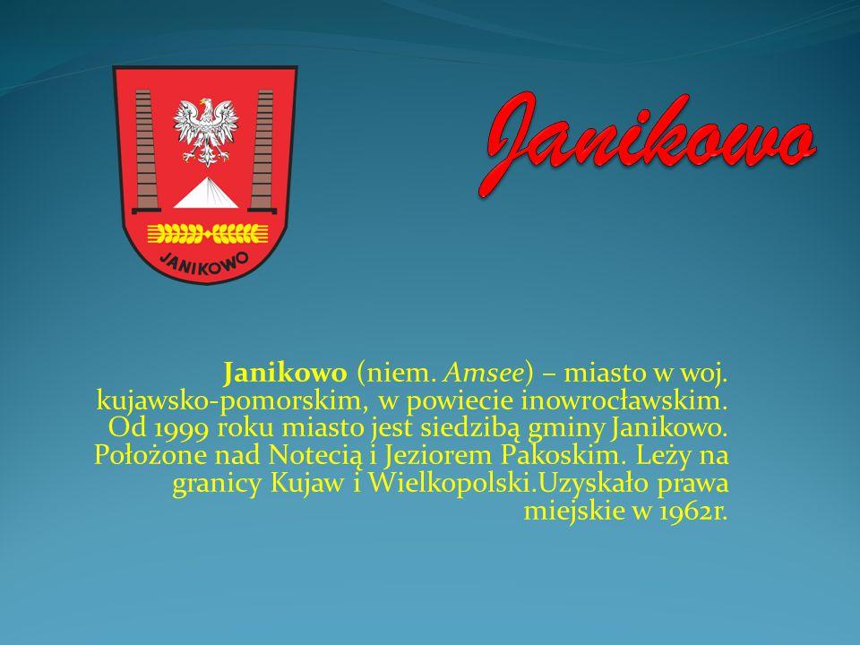 Janikowo (niem. Amsee) – miasto w woj. kujawsko-pomorskim, w powiecie inowrocławskim. Od 1999 roku miasto jest siedzibą gminy Janikowo. Położone nad N