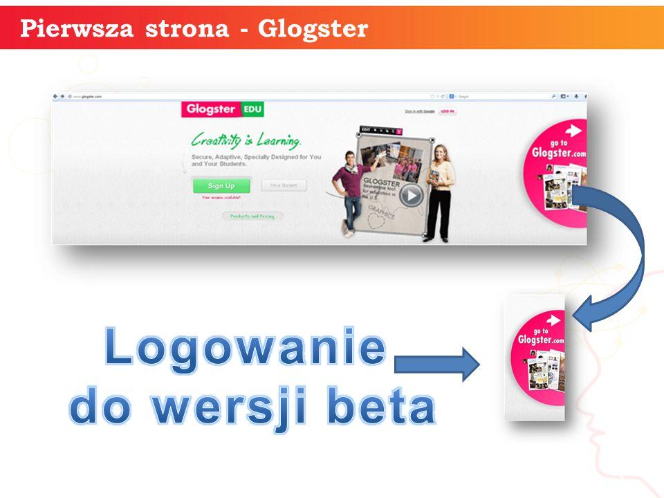 Pierwsza strona - Glogster informatyka + 3