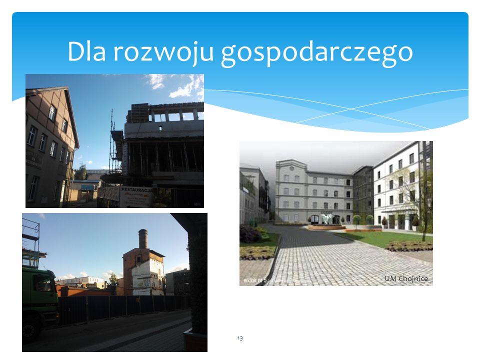 13 Dla rozwoju gospodarczego UM Chojnice
