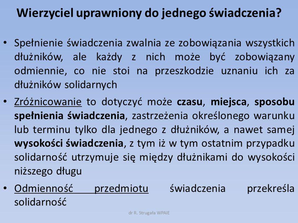 Roszczenia regresowe (art.