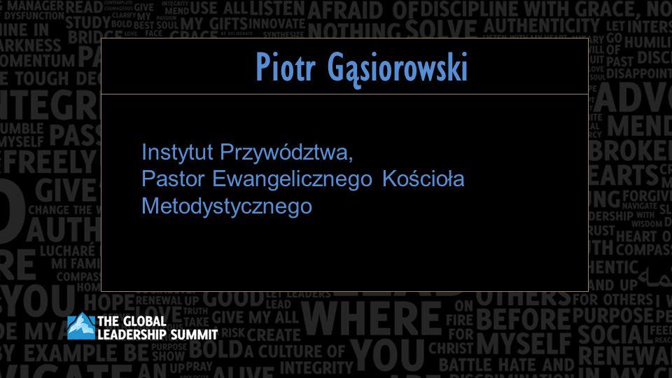 Piotr Gąsiorowski Instytut Przywództwa, Pastor Ewangelicznego Kościoła Metodystycznego