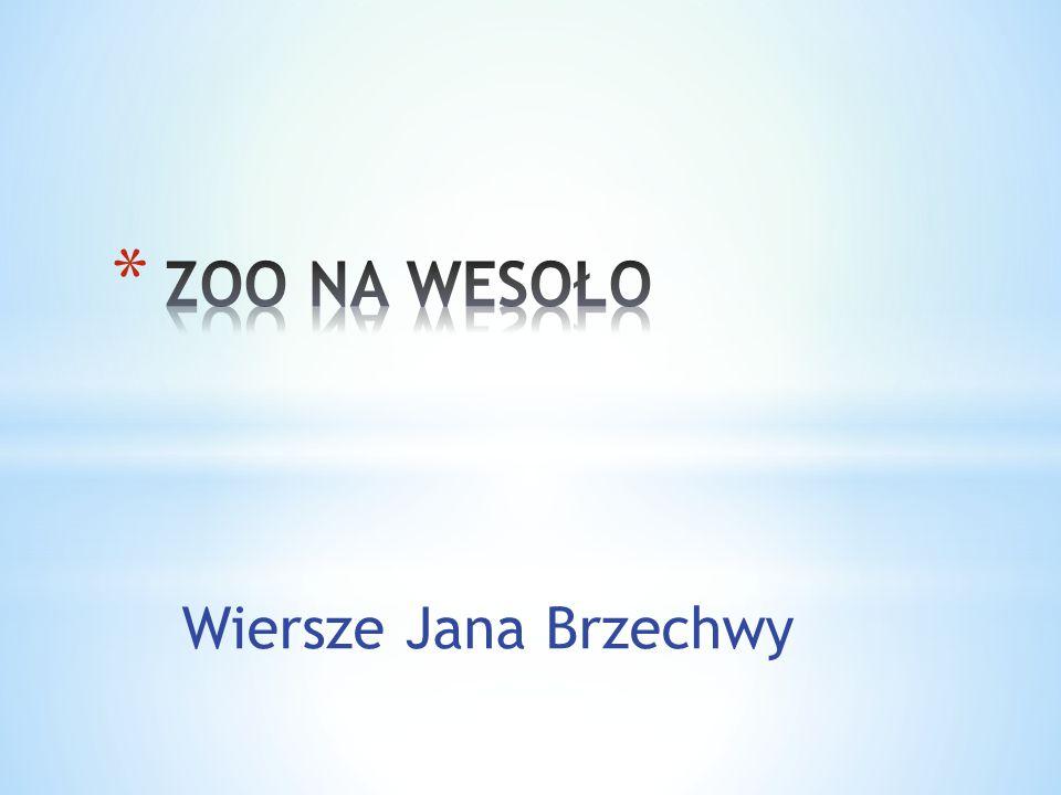 Wiersze Jana Brzechwy