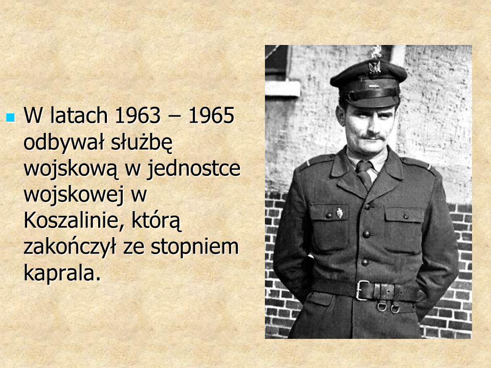 W latach 1961– 1967 pracował jako elektryk oraz konserwator urządzeń elektrycznych w Państwowym Ośrodku Maszynowym w Łochocinie.