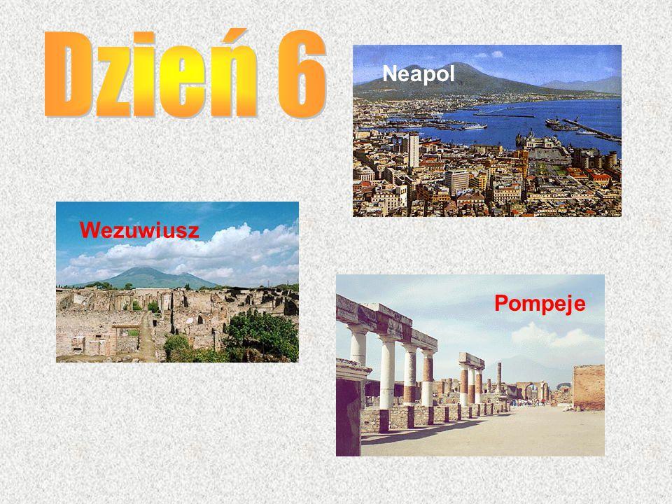 Neapol Wezuwiusz Pompeje