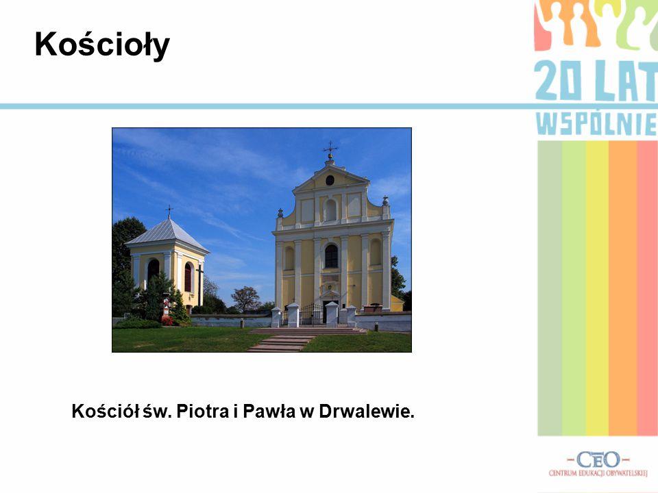 Kościół św. Piotra i Pawła w Drwalewie. Kościoły