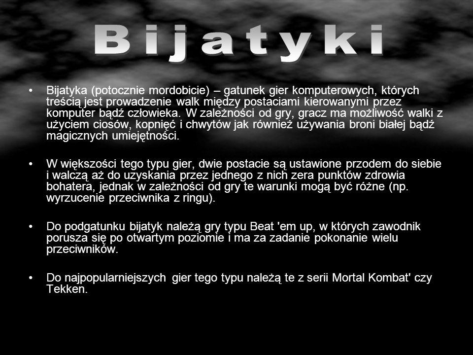 Mortal Kombat – to gra stworzona przez firmę Midway, która dała początek popularnej serii bijatyk oraz kilku filmom.Midway