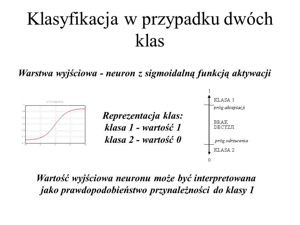 Klasyfikacja wzorcowa Celem klasyfikacji wzorcowej jest przypisanie badanych obiektów do jednej ze znanych klas.