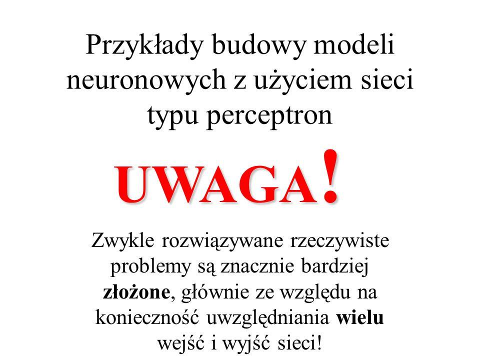 """Perceptron wielowarstwowy XW1W1 W2W2 P Y    P =  [ W 1 X ] Y =  [ W 2 P ] Y =  [ W 2  [ W 1 X ] ] W perceptronie na skutek istnienia nieliniowości w neuronach ukrytych nie jest możliwe """"zwinięcie jego wielowarstwowej struktury """