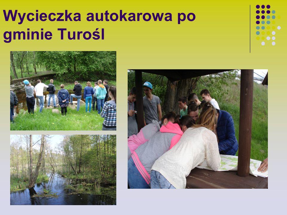 Wycieczka autokarowa po gminie Turośl