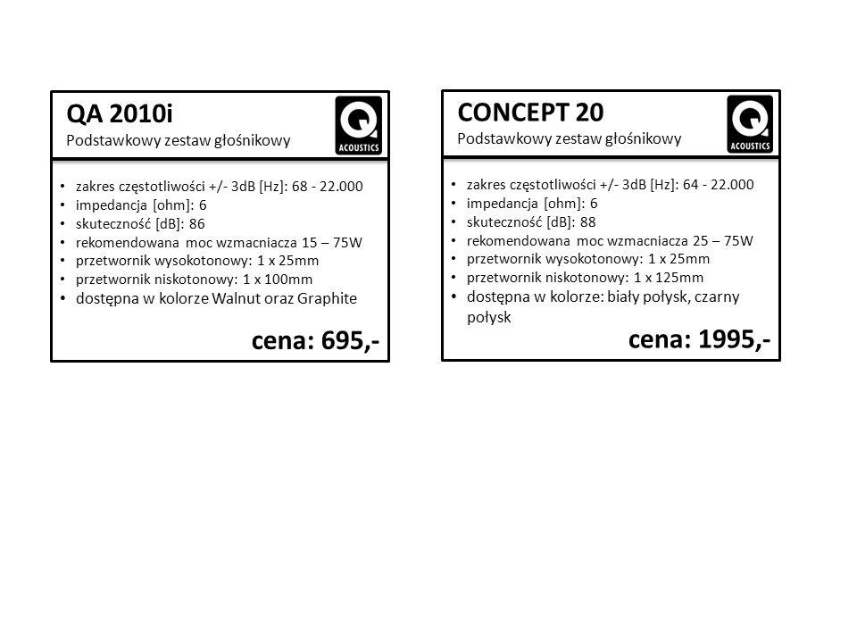 CONCEPT STAND Standy podłogowe cena: 999,-  górne kolce regulowane i zamykane na klucz  wewnętrzny montaż przewodów  tłumienie akustyczne dzięki kolumnowym wkładkom piankowym  Cena za parę