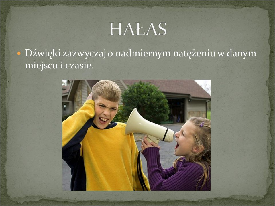 Hałas może być szkodliwy dla zdrowia człowieka.