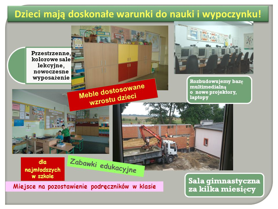 Szko ł a osadzona w tradycji lokalnej Tutaj tradycja łą czy si ę ze wspó ł czesno ś ci ą.